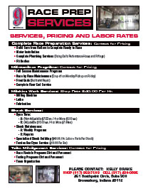 SERVICES, PRICING AND LABOR RATES